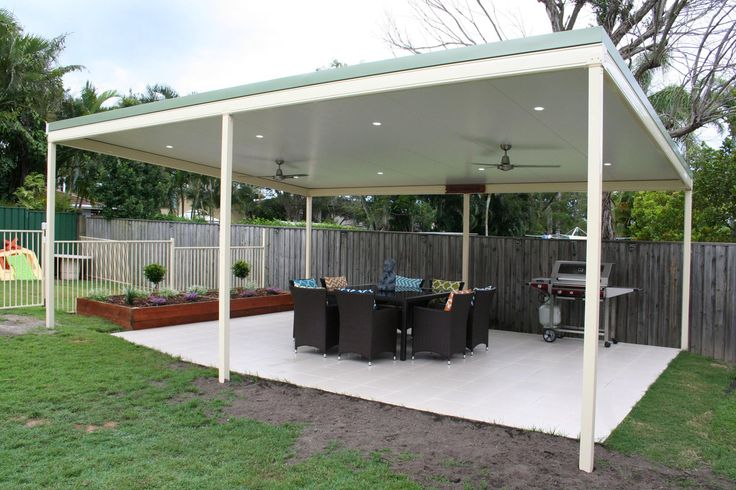 Backyard Patio...Perfect place for an afternoon drink! :) #patiodownlights #patiodesign #patio #backyard #brisbane