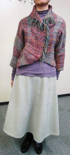 Hand-woven Tekijuku SAORI Yokohama communication - SAORI weave information blog