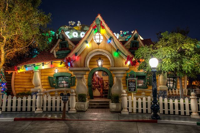 It's Already Christmas at Mickey's House by Justin in SD