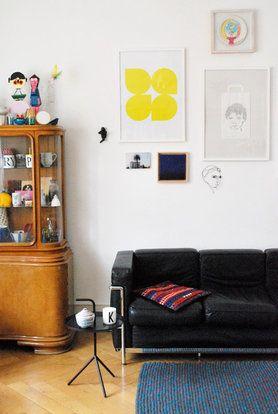 #Bilderwand: Schöne Idee Für Das #wohnzimmer #interior #bilderwand  #bilderrahmen #