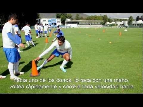 Drill for improving Soccer speed and reaction time