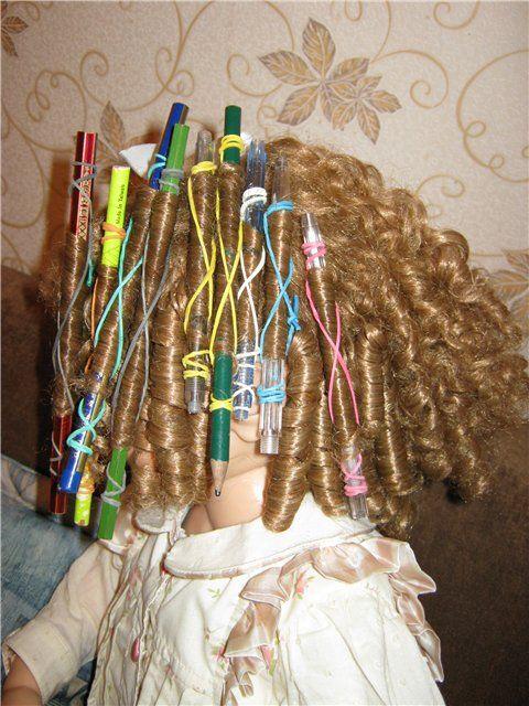 Возвращаем красоту нашим куколкам. Советы по уходу за куклами / Перепрошивка волос, восстановление волос, парика / Бэйбики. Куклы фото. Одежда для кукол