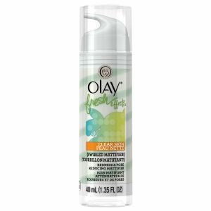 Olay Fresh Effects Clear Skin Swirled Mattifier! Redness and Pore Reducing Mattifier, Citrus/Mint - 1.35 fl oz