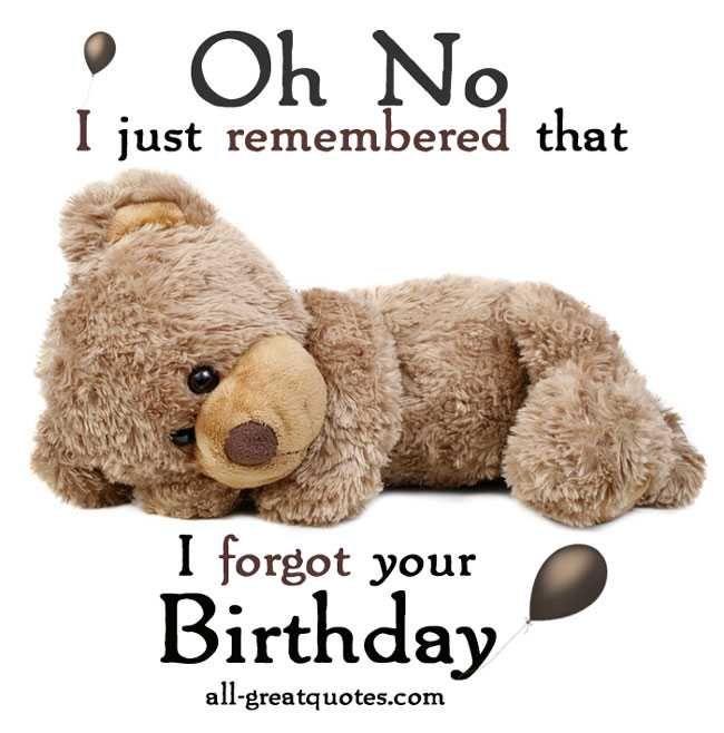 Happy Birthday Cards Belated Birthday