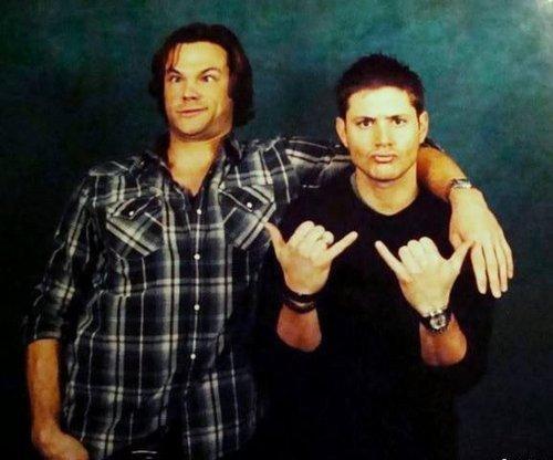 Funny Jared Padalecki and Jensen Ackles (Supernatural)