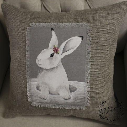 Наволочка Кролики. Дизайн №2
