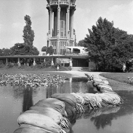 flood in Budapest, 1965#árvíz magritsziget