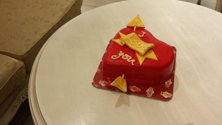 valentine cakes - Cake by Christina Papadopoulou