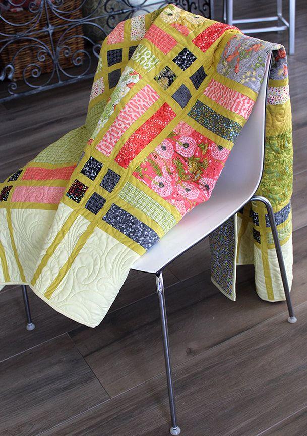 Fringe Quilt By Robin Pickens Using Dandi Annie Fabrics