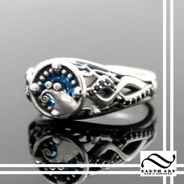 This 'Nightmare Before Christmas' Engagement Ring Is Gorgeous