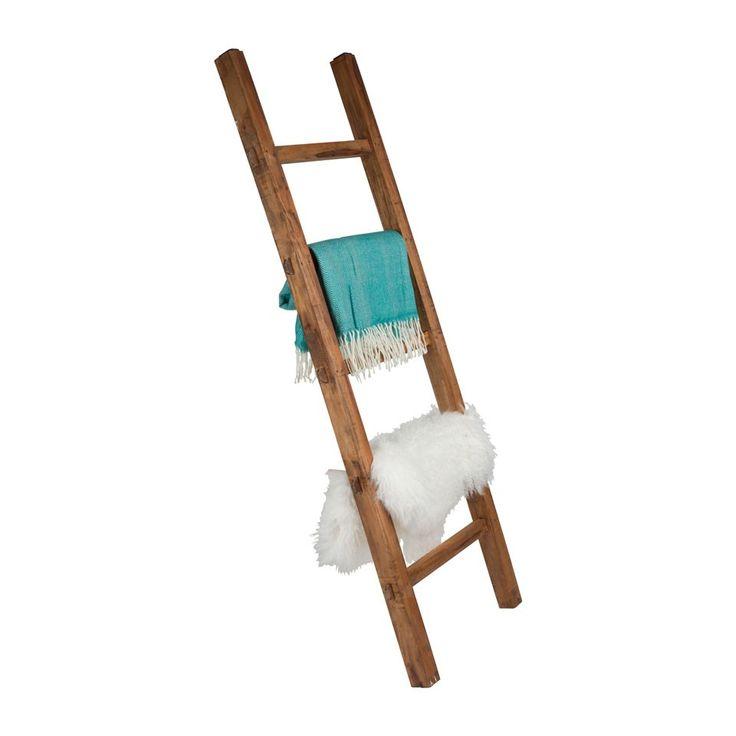 17 beste idee n over decoratieve ladders op pinterest ladders deken ladder en houten ladder - Deco houten trap ...