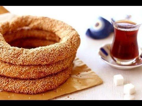 Турецкие бублики Симит . Рецепт.
