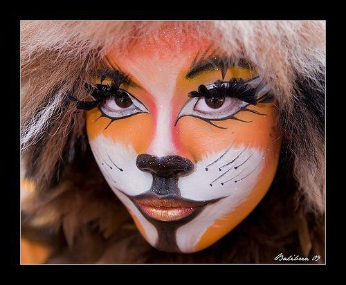 Tijger makeup #tijger #makeup