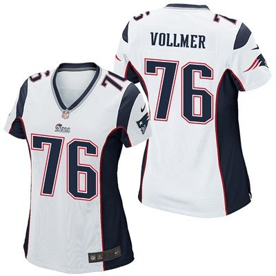 New England Patriots Road Game Jersey - Sebastian Vollmer - Womens