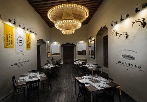 Comedor principal restaurante Montero, en Saltillo, México   Diseño de Anagrama
