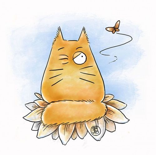 Era uma vez um gatinho que queria ficar sozinho, ... ^=^