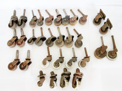 vintage furniture casters and wheels 1