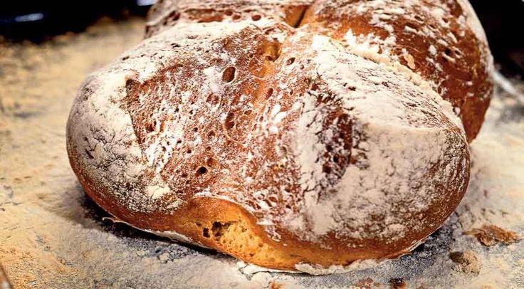 Домашний хлеб на кисломолочной закваске
