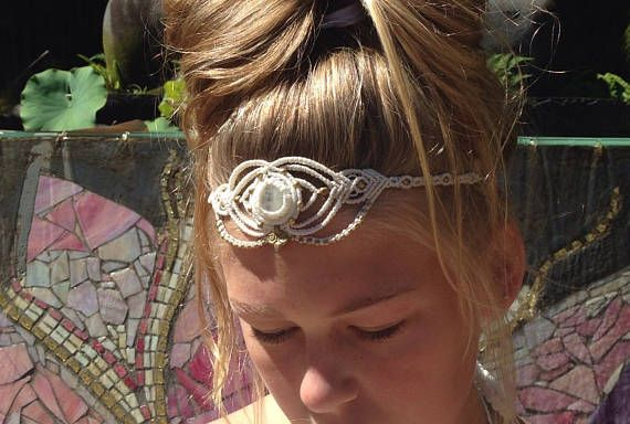 Check out this item in my Etsy shop https://www.etsy.com/au/listing/524398475/moonstone-white-faerie-headpiece-wedding