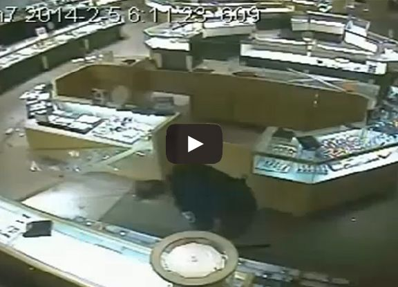 According to the Pembroke Pines Police Department, Burgs was captured on surveillance video carrying a ladder around the store. On another surveillance, two watches are seen on the floor. Burgs is seen putting down the ladder to pick up his gun. As he picks up the gun and leaves the store, only one watch remains.  Investigators said they found the nearly $8,000 watch inside Burgs police cruiser.  Burgs has been charged with grand theft.