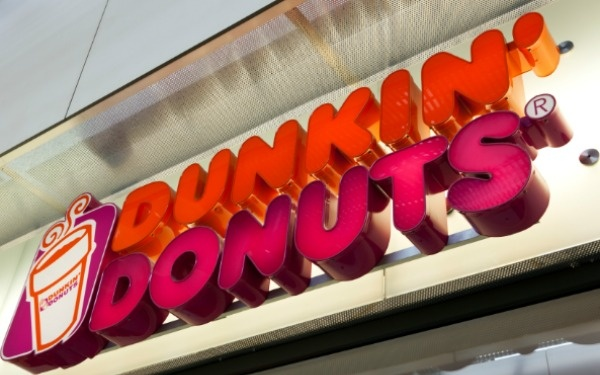 Dunkin' Donuts's new mobile app lets you buy coffee for a friend.