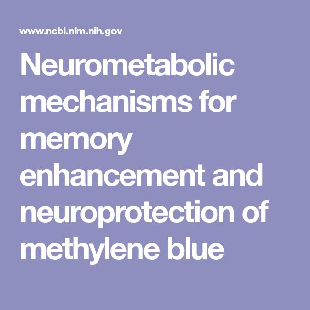 Neurometabolic mechanisms for memory enhancement and neuroprotection of methylene blue