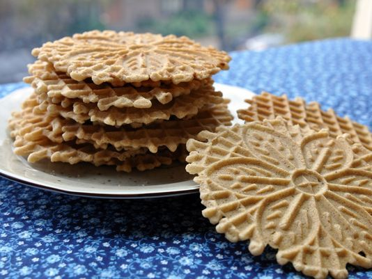 Cinnamon Pizzelles recipe