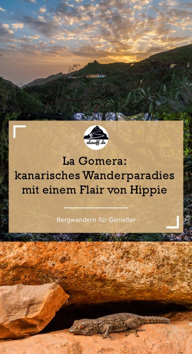 Wandertipps für La Gomera #gomera #kanaren #wandern #spanien