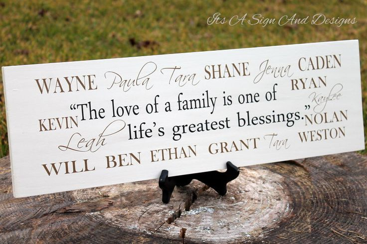 Blended Family Wedding, Blended Family, Blended Family Wedding Gift, Blended Family Sign, Blended Family Gift, Sign With Kids Names, Large by ItsASignAndDesigns on Etsy https://www.etsy.com/ca/listing/271418308/blended-family-wedding-blended-family