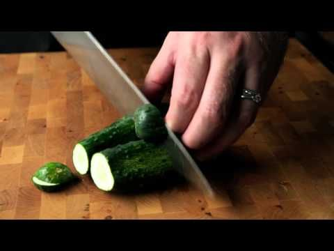 The Story Behind Our House-Made Garlic Dill Pickles - YouTube These are really good and I WILL develop a recipe from this video.