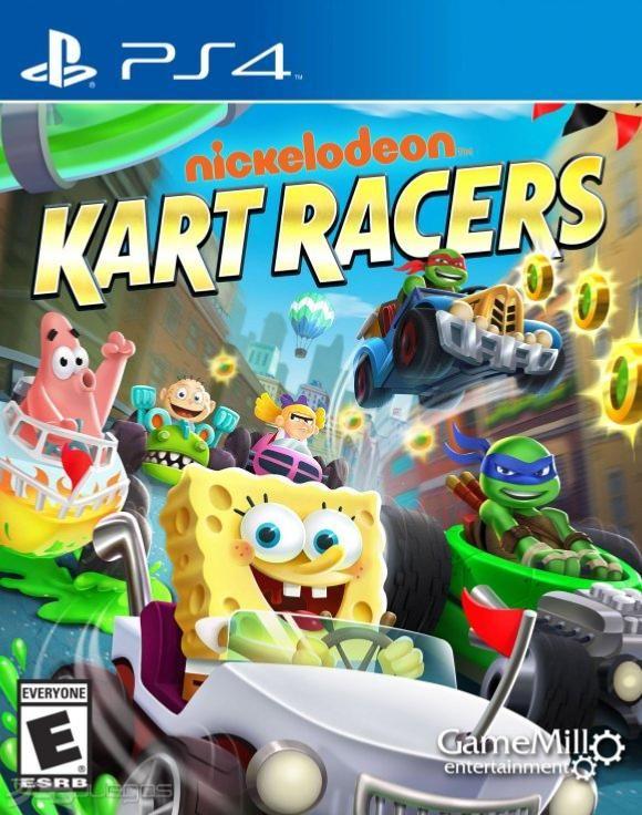 Juego Ps4 Nickelodeon Kart Racers Juegos Ps4 Pinterest
