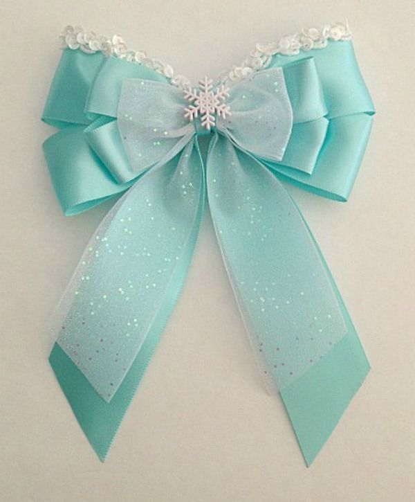 Disney inspired Frozen Elsa princess hair bow in Clothing, Shoes & Accessories, Kids' Clothing, Shoes & Accs, Girls' Accessories | eBay
