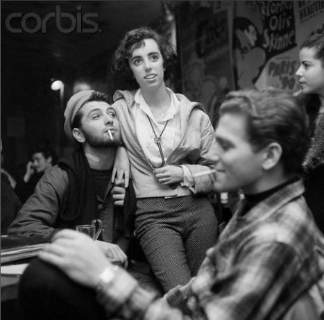 1959 Greenwich village. Beat generation