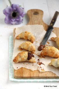 Chocolade croissants - Mind Your Feed