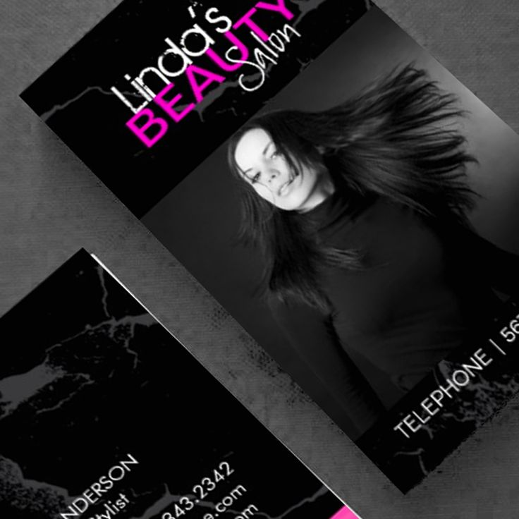 17 best images about hair salon business card templates on - Beauty salon business ...