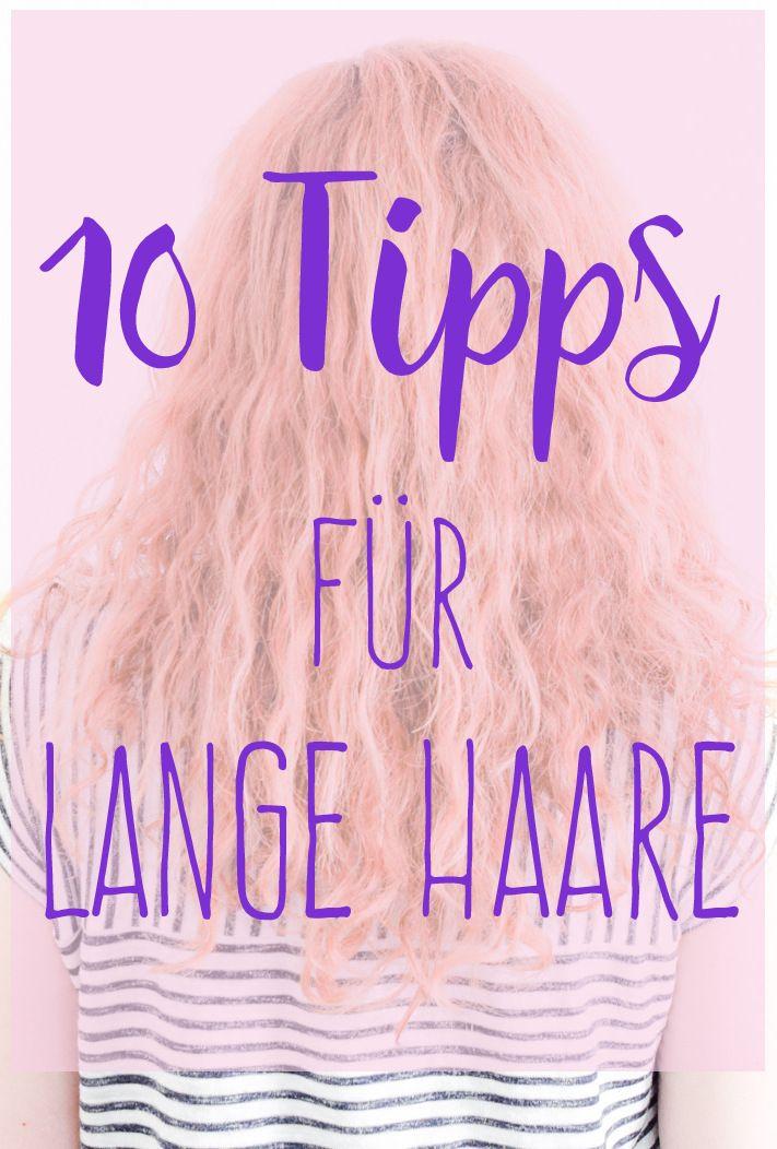 10 Tipps für lange und gesunde Haare lange Haare bekommen, pflegen und wachsen lassen auf I need sunshine Beautyblog