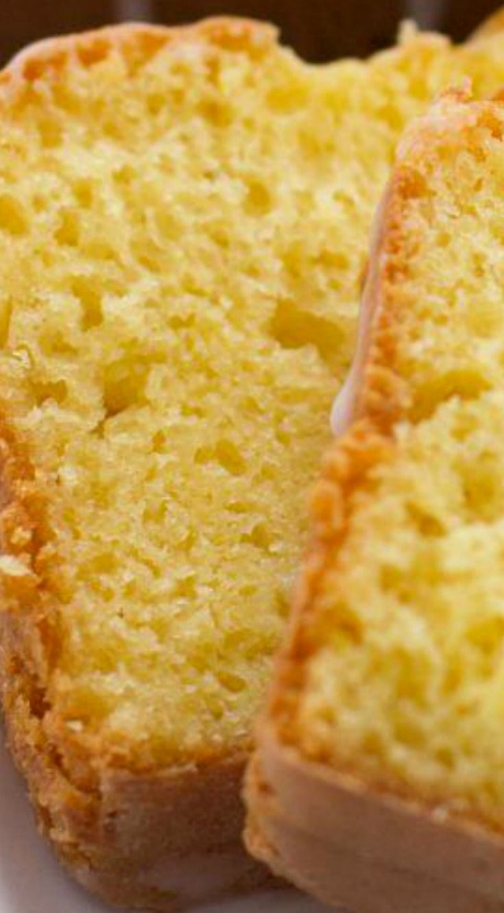 Lemon Pudding Bread ~ It's moist and absolutely delicious... So yummy it could easily pass a dessert.