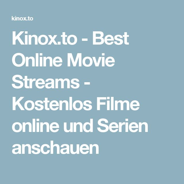 hd filme online anschauen