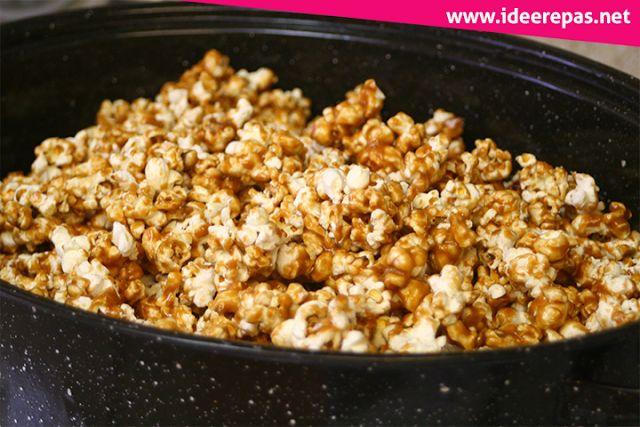 Pop-corn Caramelisé | idee repas: Bonjour, Je voudrais vous présenter la technique pour faire du pop-corn caramélisé. Merci et bonne journée à vous tous.