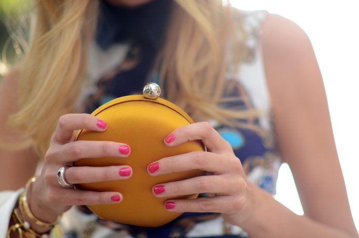 kenzo macaroon bag + Chanel Tentation
