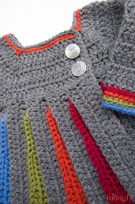 Free Pattern: Eloise Baby Sweater - moogly, her patterns are so well written!