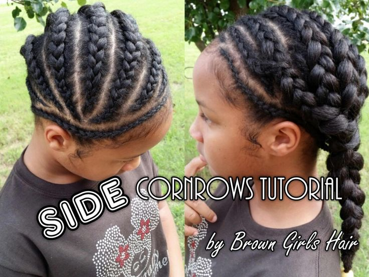 Black Hairstyles With Side Braids: Best 25+ Side Cornrows Ideas On Pinterest