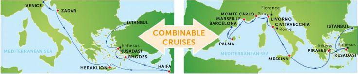 Krydstogt guide – Destinationer – Eventyrrejser- Der er mange muligheder for at kombinere fører krydstogter og opleve endnu mere
