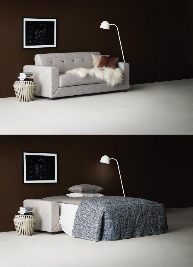 Les 25 meilleures id es concernant canap lit sur pinterest - Canape lit bo concept ...