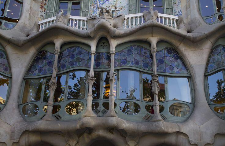 Salón Casa Batlló  #batlló #casa #house #barcelona #gaudí #salón #ventanal