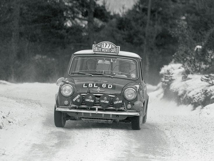 Morris Mini Cooper 1276S Rally