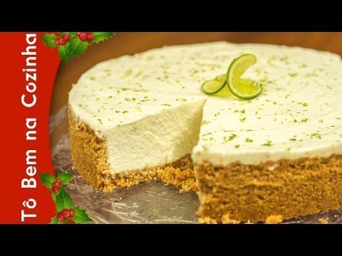 CHEESECAKE DE LIMÃO - Receita de cheesecake de limão (Episódio #94) - YouTube
