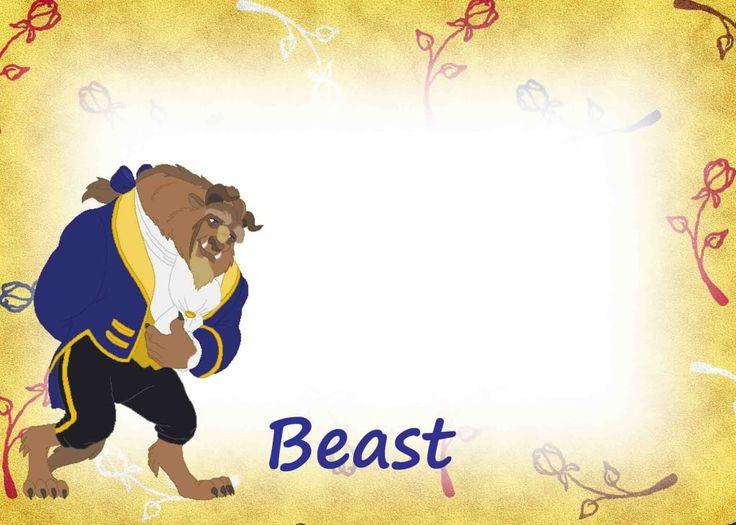 Beast Autograph Page | Disney Autograph/Project Life ...