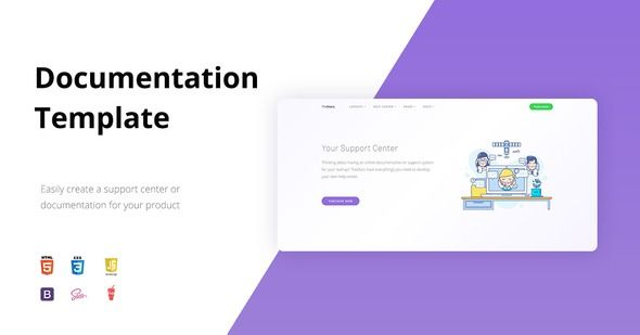 Thedocs Online Documentation Template Templates Website
