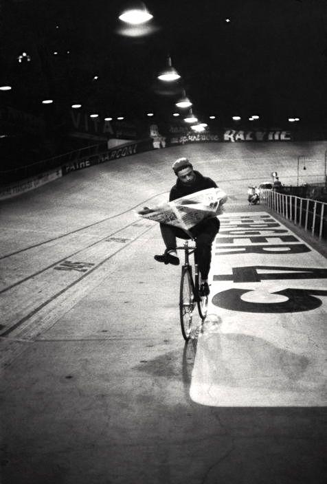 Vélodrome d'Hiver Paris 1957 Henri Cartier-Bresson